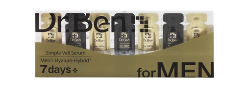 Made in Japan brand new Dr.Ben(doctor Ben) mens Halo hybrid beauty liquid 7 W features beauty essence