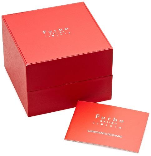2年保证!furubodezain(Furbo Design)手表FS405CPWH太阳能基·soreseramikku MIYOTA(miyota)日本制造