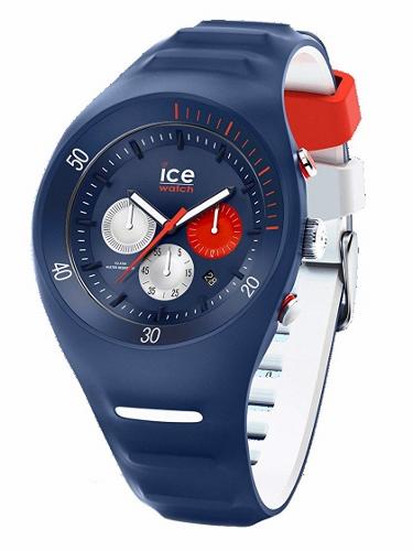 2年保証!送料無料 46mm アイスウォッチ(ICE-WATCH) 腕時計 BMW Pierre Leclercq P.Leclercq ピエール ルクレ 014948 Dark blue(ダークブルー) クロノグラフ Large ラージ 100M防水 メンズ レディース ユニセックス 紺 白 赤 ネイビー ホワイト レッド【smtb-m】