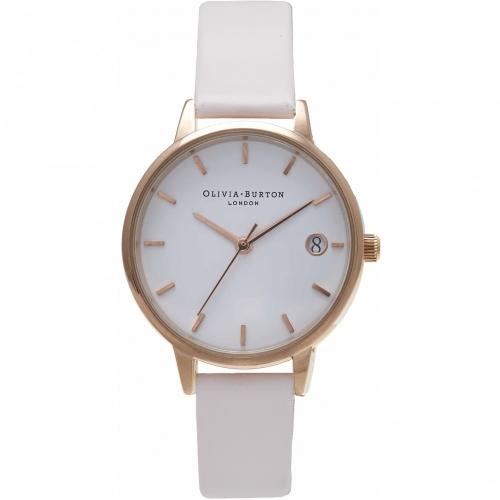 2年保証 新品 送料無料 OLIVIA BURTON オリビアバートン 腕時計 レディース The Dandy OB15TD09 30mm ローズゴールド Rose Gold ホワイト(ブラッシュ)【smtb-m】