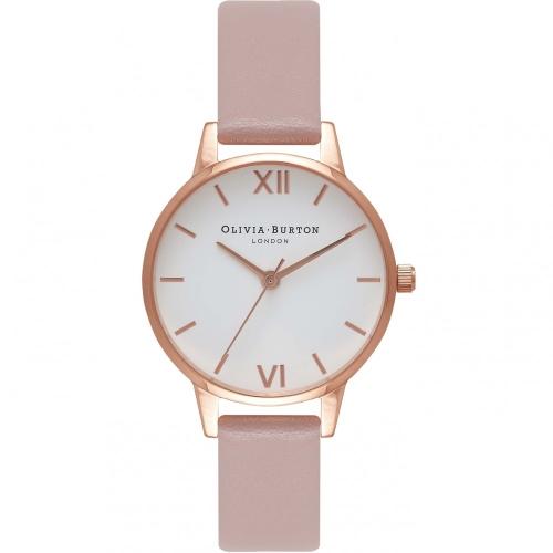 2年保証 新品 送料無料 OLIVIA BURTON オリビアバートン 腕時計 レディース Vegan Friendly OB16MDV01 30mm ローズゴールド Rose Gold ピンク(ローズサンド)【smtb-m】