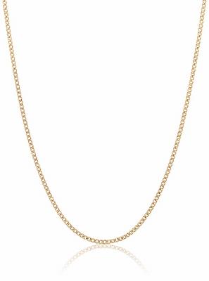 K18 YG 18金 喜平 キヘイ チェーン ネックレス 0.28φ 1.7g 50cm 日本製 ゴールド 金 メンズ レディース ユニセックス
