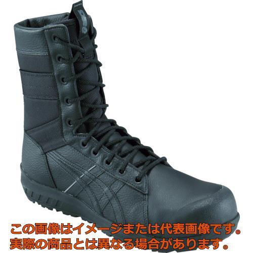 アシックス ウィンジョブCP402 ブラック/ブラック 24.0cm 1271A002.00124.0
