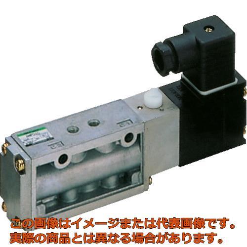 CKD 4Fシリーズパイロット式5ポート弁セレックスバルブ 5.8C[dm[[の3乗]]/(S・bar)]/音速コンダクタンス 4F31010AC100V