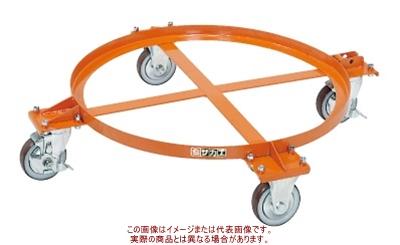 円形ドラム台車(オープンタイプ) DR-1M【配送日時指定不可・個人宅不可】