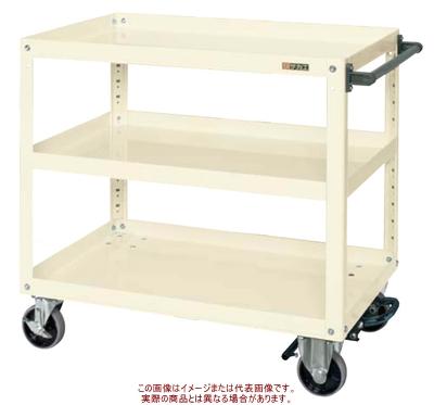 スーパーワゴン(フットブレーキ付) EGR-600BRNUI【配送日時指定不可・個人宅不可】