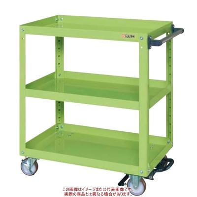 スーパーワゴン(フットブレーキ付) EGR-600BRNU【配送日時指定不可・個人宅不可】