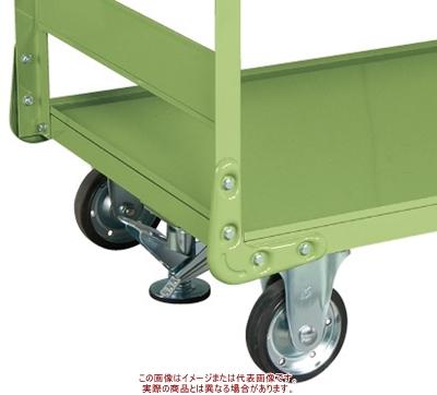 サカエ 特製四輪車 オプションフロアロック TAN-5.6FRSET【代引不可・配送時間指定不可・個人宅不可】