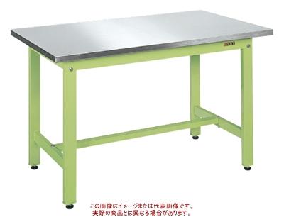 軽量作業台KKタイプ(ステンレス天板仕様) KK-127SU4N【配送日時指定不可・個人宅不可】