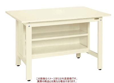 軽量作業台KKタイプ(収納棚付) KK-69SSTI【配送日時指定不可・個人宅不可】