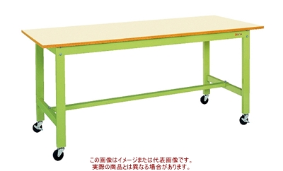 サカエ 軽量作業台KKタイプ(移動式) KK-39B1IG【代引不可・配送時間指定不可・個人宅不可】