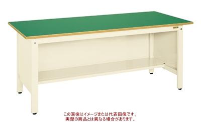 軽量作業台KKタイプ(三方パネル付) KK-69FPI【配送日時指定不可・個人宅不可】