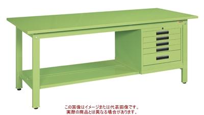 軽量作業台KKタイプ(SVEキャビネット付) KK-69SSVE5【配送日時指定不可・個人宅不可】