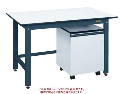 軽量作業台KKタイプ(キャビネットワゴン付) KKD-187LC【配送日時指定不可・個人宅不可】