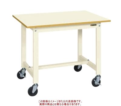 サカエ 軽量作業台KSタイプ(移動式) KS-127PRI【代引不可・配送時間指定不可・個人宅不可】