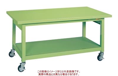 サカエ 重量作業台KWBタイプ(移動式) KWBS-128【代引不可・配送時間指定不可・個人宅不可】