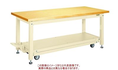 ペダル昇降移動式作業台KWCタイプ KWCG-188I【配送日時指定不可・個人宅不可】