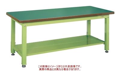 重量作業台KWタイプ(中板2枚付) KWF-128T1【配送日時指定不可・個人宅不可】