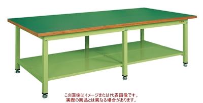 サカエ 大型作業台・重量KWタイプ KWF-2412T【代引不可・配送時間指定不可・個人宅不可】