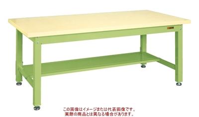 重量作業台KWタイプ(中板1枚付) KWG-158T【配送日時指定不可・個人宅不可】