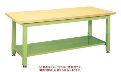 重量作業台KWタイプ(中板2枚付) KWG-158T1【配送日時指定不可・個人宅不可】