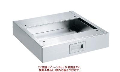 サカエ ステンレス作業台 オプションキャビネット NKL-10SUC【代引不可・配送時間指定不可・個人宅不可】
