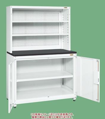 保管システム(パンチング架台・固定棚付タイプ) PNH-R90KPDW【配送日時指定不可・個人宅不可】