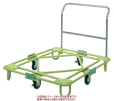 自在移動回転台車(中量型・取手付) RB-4TG【配送日時指定不可・個人宅不可】