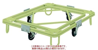 サカエ 自在移動回転台車(重量型) RC-5G【代引不可・配送時間指定不可・個人宅不可】