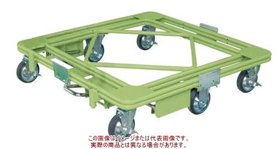 魅力の 自在移動回転台車(超重量型・フットブレーキ付) RH−2FBG【配送日時指定・個人宅】:工具箱 店-DIY・工具