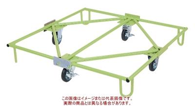 樹脂パレット台車(取手ナシタイプ) SC-110【配送日時指定不可・個人宅不可】