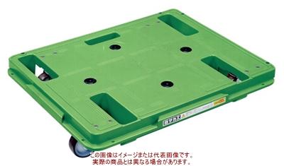 樹脂台車(スタッキング・連結仕様)4輪自在タイプ SCR-650S【配送日時指定不可・個人宅不可】