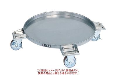 ステンレスタイプ SDR-61【配送日時指定不可・個人宅不可】 円形ドラム台車