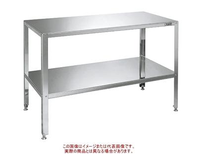 サカエ ステンレス小型作業台 STK4-126【代引不可・配送時間指定不可・個人宅不可】