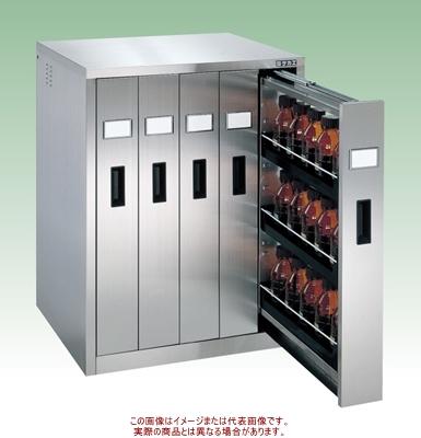 ステンレス薬品保管庫(バーチカルタイプ) SU-5BS【配送日時指定不可・個人宅不可】