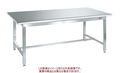 ステンレス作業台 H740mm(天板R付・SUS304) SUS3-187R【配送日時指定不可・個人宅不可】