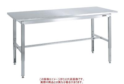 ステンレス高さ調整作業台(SUS430) SUT4-187N【配送日時指定不可・個人宅不可】