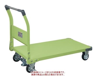 特製四輪車(固定ハンドルタイプ・フロアストッパー付) TAN-66F【配送日時指定不可・個人宅不可】