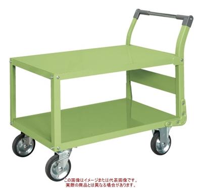 サカエ 特製四輪車(二段タイプ) TAW-55【代引不可・配送時間指定不可・個人宅不可】