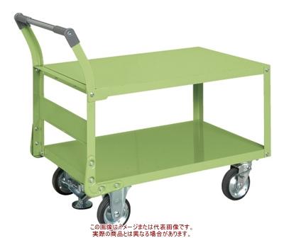 サカエ 特製四輪車(二段タイプ・フロアストッパー付) TAW-55F【代引不可・配送時間指定不可・個人宅不可】