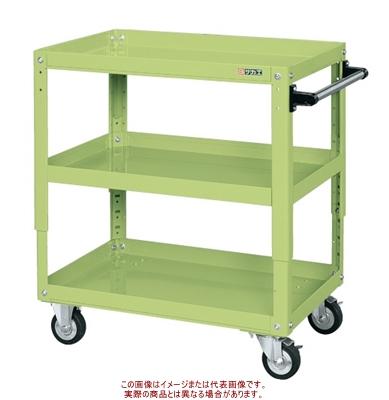 スーパーワゴン高さ調整タイプ(ゴム車) TEKR-400【配送日時指定不可・個人宅不可】