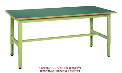 軽量高さ調整作業台TKK6タイプ TKK6-156F【配送日時指定不可・個人宅不可】