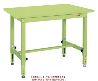 中量高さ調整作業台TKTタイプ(スチールカブセ天板仕様) TKT-096PC【配送日時指定不可・個人宅不可】