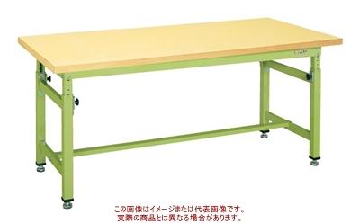 重量高さ調整作業台TKWタイプ TKW-128GK【配送日時指定不可・個人宅不可】