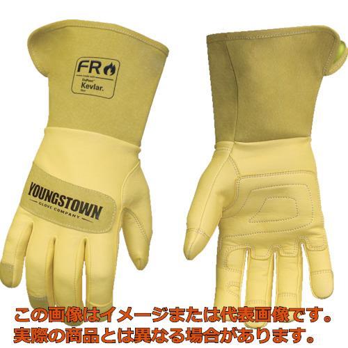 YOUNGST 革手袋 FRレザー ケブラー(R) ワイドカフ L 12327560L