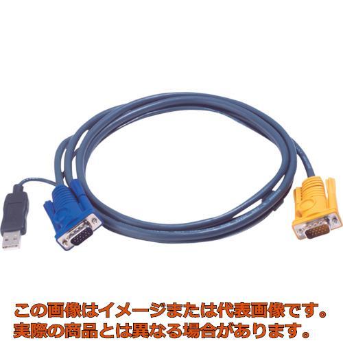 ATEN USB KVMケーブル SPHDタイプ 6m 2L5206UP