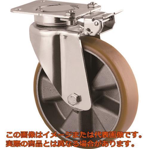テンテキャスター 重荷重用高性能旋回キャスター(ウレタン車輪・メンテナンスフリー) 3641ITP200P63CONVEX