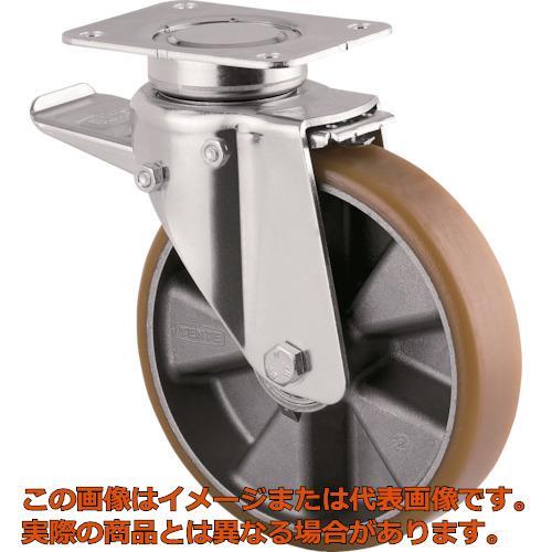 テンテキャスター 重荷重用高性能旋回キャスター(ウレタン車輪・メンテナンスフリー) 3642ITP125P63CONVEX