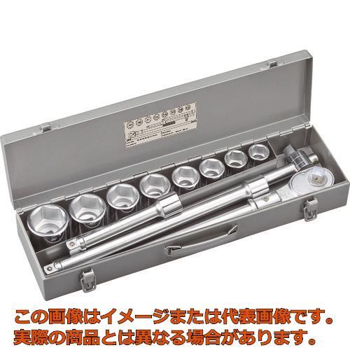 TONE ソケットレンチセット 差込角19.0mm 12点セット 200MS