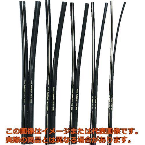 チヨダ TEツインタッチチューブ 12mm/50m 黒 2TE1250 BK